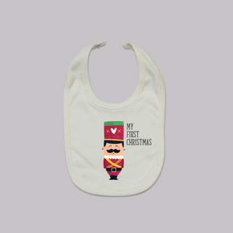 First_Christmas_soldier_bib 6023