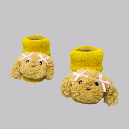 8516_slippers_dog_yellow